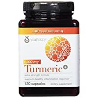 Youtheory Turmeric Extra Strength Formula Capsules 1,000 mg per Daily, Special 2 Pack ( 240 Count Total )