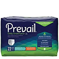 Prevail Incontinence Protective Underwear, Extra Absorbency (Large (72 Count)) White