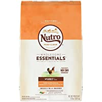 NUTRO WHOLESOME ESSENTIALS Adult Natural Dry Dog Food Farm-Raised Chicken, Brown Rice & Sweet Potato Recipe, 15 lb. Bag