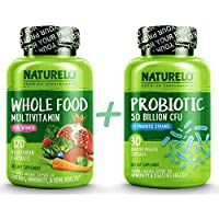 Bundle: Whole Food Multivitamin for Women + Probiotic