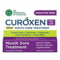 CUROXEN Mouth Sore Treatment, 0.42 oz | All-Natural & Organic Ingredients | Oral Pain Reliever |Oral Pain Medicine
