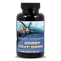 Horny Goat Weed with Maca Root Extract 1000mg by Advanta Supplements, 60 Count
