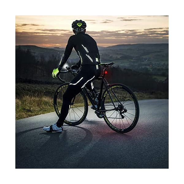 4 Light Mode Options Highlight Waterproof Bicycle Taillights Accessories Warning Lights 2 USB Cables Included N N.ORANIE Super Bright Bike Tail Light USB Rechargeable 2 Pack