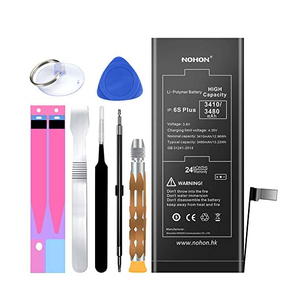 24 Months Warranty DRUMMER Battery for iPhone 6s Plus 3325mAh High ...
