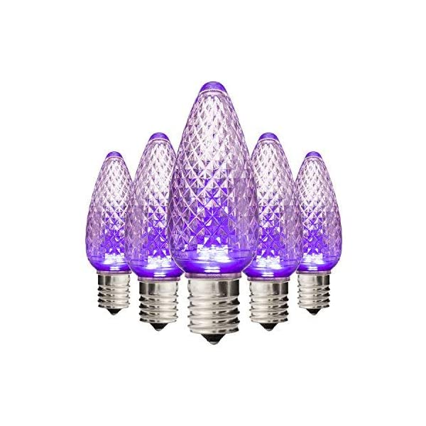 Mua Holiday Lighting Outlet Faceted C9 Christmas Lights Purple