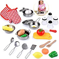 Vegetable Pink Kitchen Simulation Cooking Set with Light /& Sounds for Toddler Gift Toy Vehpro Kitchen Pretend Play Set with Water and Simulated steam Kids Kitchen Cooker Toys