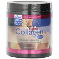 Neocell Super Powder Collagen, Type 1 and 3, 7 Ounce (2 Pack)( Package may vary)