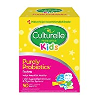 Culturelle Kids Daily Probiotic Packets Dietary Supplement | Helps Support a Healthy Immune & Digestive System | Works Naturally with Your Child's Body | 50 Single Packets | *Packaging May Vary