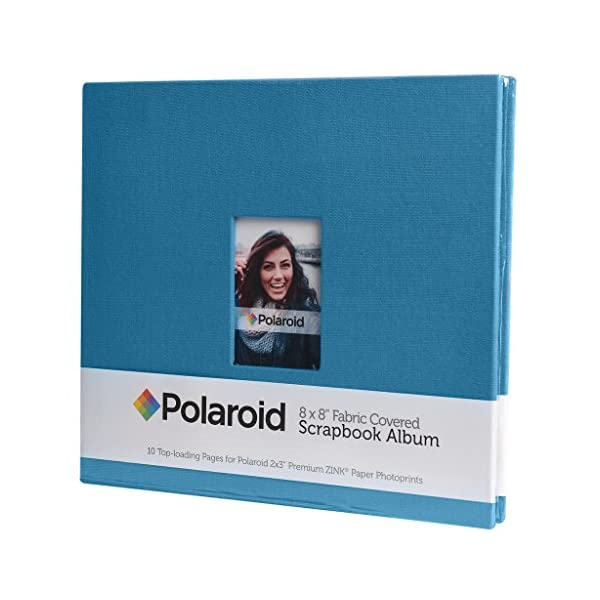 "Polaroid 9 Color Cardstock Paper Pack 8/"" x 8/"" Color Pages for Scrapbook Mint, Snap, Zip, Z2300 Arts and Crafts For 2x3 Photo Paper Projects Greeting Cards 54pc"