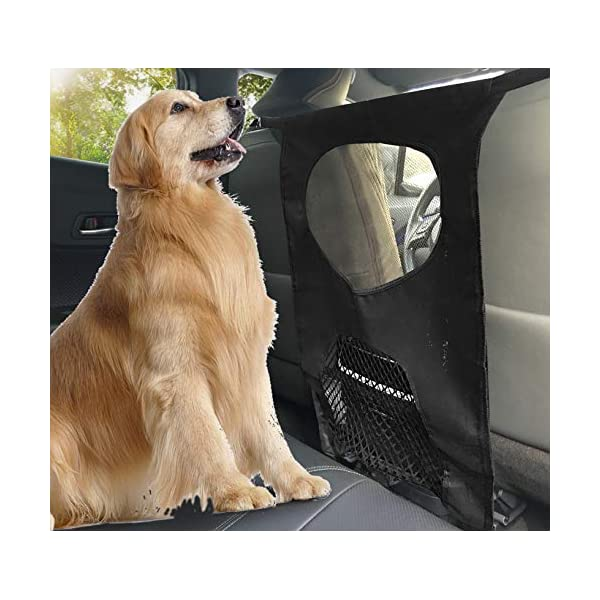 TM to Keep Your Pets and Drivers Safety inTravel Lifepul Pet Barrier Net One Size Fit Most /& Easy to Install for Car,SUV,Truck, Dogs Backseat Barrier Mesh Obstacle Dog Car Fence Mesh