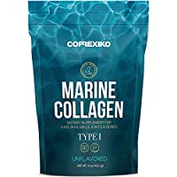 Premium Marine Collagen Peptides (Large Pack,15oz) from Wild Caught Fish Skin (Not Scales), hydrolyzed Protein Powder for Joints & Bones, Skin, Hair, Nails & Digestive Health - Made in Canada