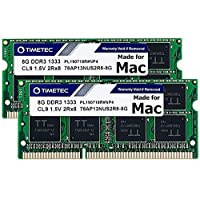 /… Compatible for Apple Late 2009 iMac 21.5-inch // 27-inch DDR3 1067MHz//1066MHz PC3-8500 CL7 204 Pin 1.5V SODIMM RAM Upgrade for iMac 10,1 iMac 11,1 16GB KIT 4x4GB 4x4GB Timetec Hynix IC 16GB KIT