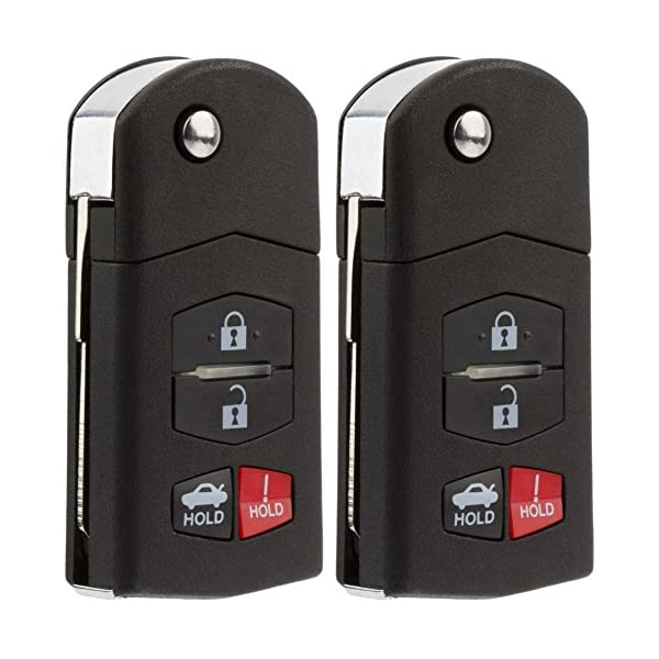 KeylessOption Keyless Entry Car Remote Control Key Fob Replacement for BGBX1T478SKE125-01