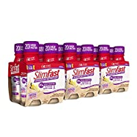 SlimFast Advanced Nutrition Vanilla Cream Shake – Ready To Drink Meal Replacement – 20g of Protein – 11 Fl. Oz. Bottle – 12 Count