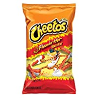 Cheetos Crunchy Flamin' Hot Cheese Flavored Snacks, 8.5 Ounce