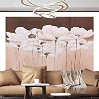 Albert Lindsay Backdrop Wall Paper Decorations Flower Label on The Vintage Card Self-Adhesive Large Wallpaper,154