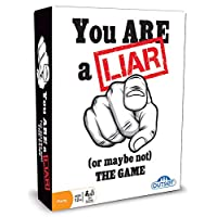 You Are A Liar - Fact Or Fiction Guessing Party Game - Features 120 Truth and 120 Lie Cards - Ages 12+