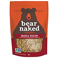 Bear Naked Maple Pecan Granola - Non-GMO, Kosher Dairy, Whole Grains - 12 Oz