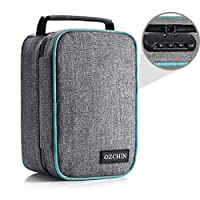 Smell Proof Bag with Combination Lock Odor Proof Stash Case Container; Medicine Lock Box Bag Travel Storage Case