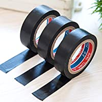 CHoppyWAVE Electrical PVC Waterproof Flame Retardant Lead-Free Electrician Insulating Tape,Movable Washable Tape for Paste Photos and Posters,Fix Carpet mats,Corrosion Resistance,Flame Retardant
