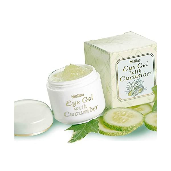 Mistine Anti-wrinkle Brightening Cucumber Eye Gel 10 g.