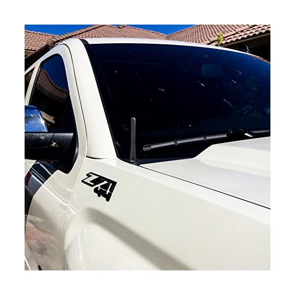 Maxracing Short Aluminum Antenna Replacement for Jeep Grand Cherokee 2011-2015