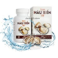 1 Box (30 Capsules) Tinh Hau Bien OB, Sea Oysters - Male Physiology - Helps to Boost Endogenous Testosterone Naturally, Oosting Male Physiological Function and Slow own The Men's Sexual Process.