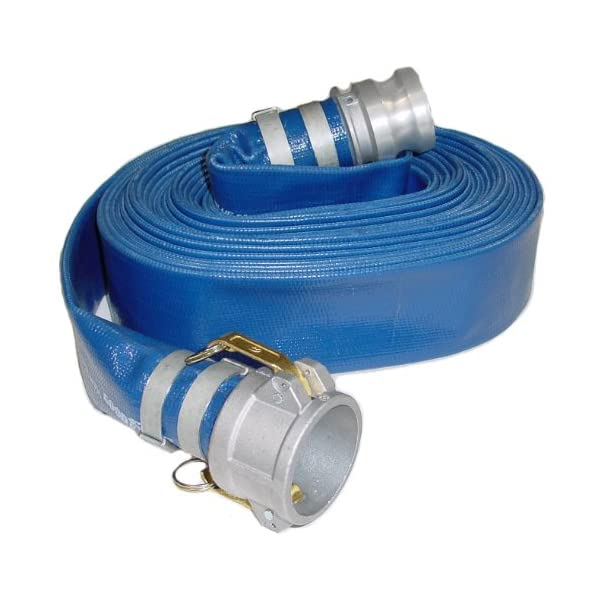 3 Male X Female Cam and Groove Green 3 ID Abbott Rubber PVC Suction Hose Assembly 40 psi Max Pressure 25 Length