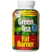 Applied Nutrition Green Tea Fat Burner, Fast-Acting Maximum Strength with 400 mg EGCG, 90 Count