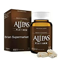 3 Box - ALIPAS Ginseng Platinum for Men Testosterone -Eurycoma Longifolia -Sexual Health