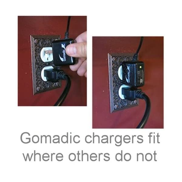FDR-AX30 Amazingly Powerful Home Charge Design Built with Gomadic Brand TipExchange Advanced Rapid Wall AC Charger Compatible with Sony FDR-AX33