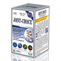 Sino-Sci Joint Choice - Joint Support Supplement, Bone Strength, Relief of Joint Pain and Swelling, 100% Natural Formula, 72 Counts