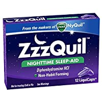 Zzzquil Nightime Sleep Ai Size 12ct Zzzquil Nightime Sleep Aid Liquicaps 12ct