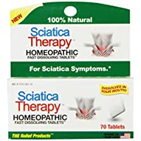 The Relief Products Sciatica Therapy Fast Dissolving Tablets, 70 Count