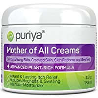 Puriya Intensive Moisturizing Cream for Sensitive and Irritated Skin, Dermatologist Reviewed, Clinically Tested Plant Rich Formula, Soothes Rough, Dry, Scaly Patches, Trusted by 300,000 Families