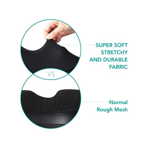 [Limited Promotion] Naipo Neck Shoulder Massager Shiatsu Back Massage Pillow Deep Tissue Kneading with Heat Adjustable Intensity Velcro Straps and Finger-Like Nodes Pain Relief for Car Home & Office