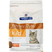Hill's Prescription Diet k/d Feline Renal Health Dry Food 4-lb bag