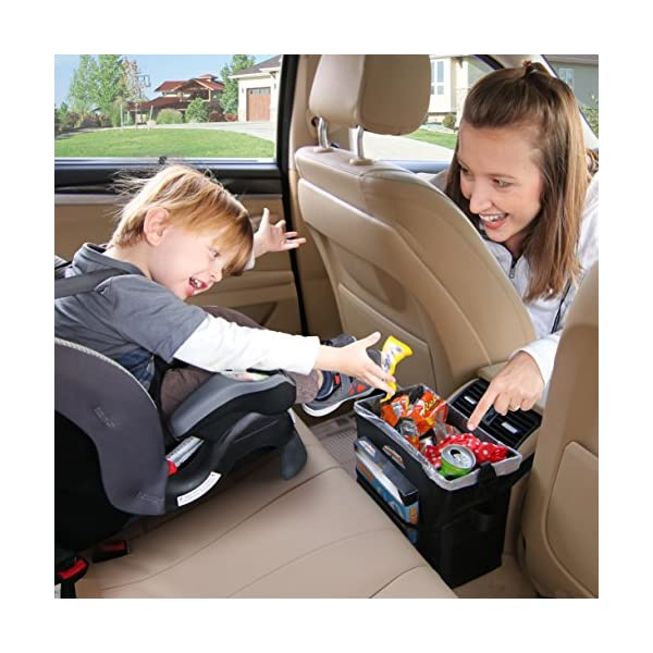 SUV Perfect for Every Driver Dispenser Pack of 25 Liners Truck Vehicle Interior Clean Auto Accessories Garbage Bag Keeps Car Fancy Mobility Car Trash Can Road Trip Essential