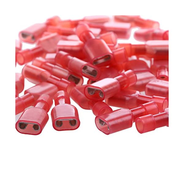 5 PRE-CRIMP A2016 RED 0039000181-05-R2 Pack of 100