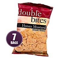 Weight Loss Systems - Honey Mustard Double Bites - High Protein Snack - Low Calorie - Low Fat - Diet Chip - Gluten Free - 7 Bags
