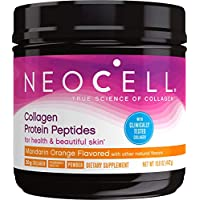 NeoCell Collagen Protein Peptides, Mandarin Orange Flavored  15.6 Ounce Tub (Packaging May Vary)