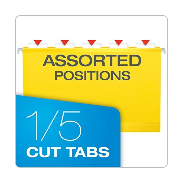This is an image of Pendaflex Printable Tab Inserts Template within avery