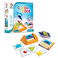 SmartGames Color Code Cognitive Skill-Building Puzzle Game Featuring 100 Challenges for Ages 5 - Adult