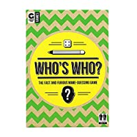 Ginger Fox Who's Who Card Game - The Fast & Furious Name Guessing Party Game For The Whole Family