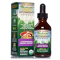 Host Defense, MyCommunity Extract, Advanced Immune Support, Mushroom Supplement with Lion's Mane, Reishi, Vegan, Organic, 2 oz (60 Servings)