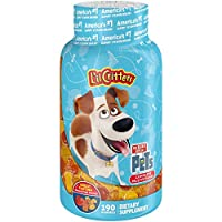 L'il Critters The Secret Life of Pets Complete Multivitamin, Kids Gummies, 190ct (Packaging May Vary)
