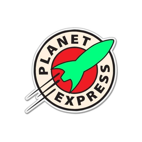 Futurama Planet Express Vynil Car Sticker Decal 5