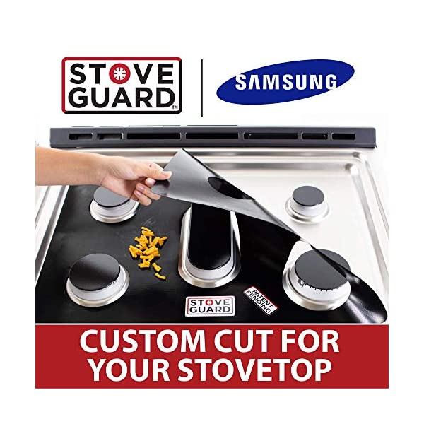 Stove Top Protector for Samsung Gas Ranges Samsung Stove Protectors Ultra Thin Easy Clean Stove Liner