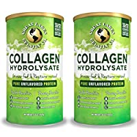Great Lakes Gelatin, Keto, Grass-Fed, Beef Collagen Hydrolysate, 16 oz, 2-Pack, FFP