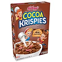 Kellogg's Cocoa Krispies, Breakfast Cereal, Made with Real Chocolate, 15.5 oz Box(Pack of 4)